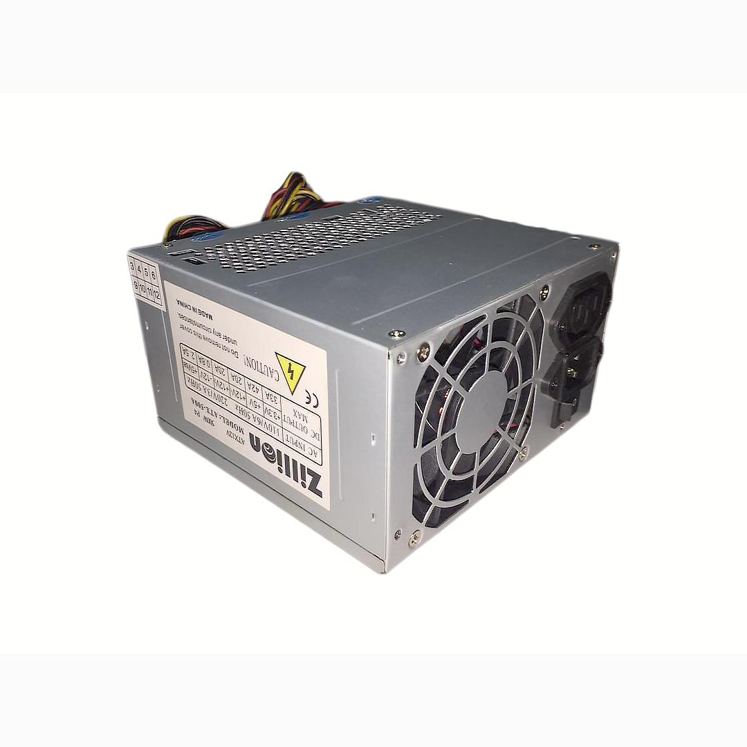 POWER SUPPLY ZILLION ATX 400W 24PIN LGA ,Case & Power Supply