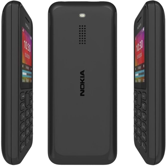 MOBILE PHONE NOKIA N130 DUAL SIM - 1.8 INCH  DUAL SIM+BT + FM radio + CAMERA - GRAY ,Other Smartpone