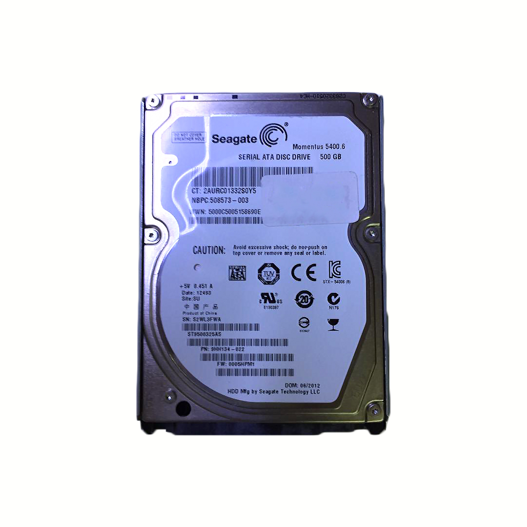 HDD 500GB HITACHI SATA3 FOR NOTEBOOK 5400RPM مستعمل ,Other Used Items