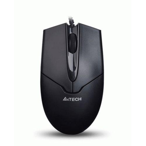 MOUSE A4TECH OPTICAL OP-550NU BLACK USB ,Mouse