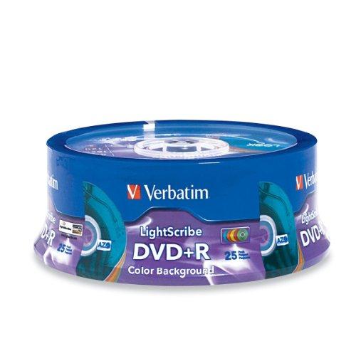 CD BLANK DVD-R VERBATIM 4.7GB16X LIGHTSCRIBE ,Blank CD & DVD
