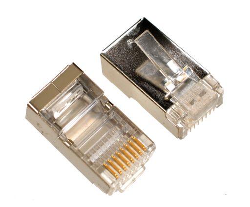 RJ 45 JACK STP معدنية ,Network Accessories