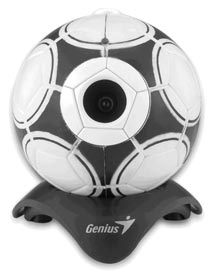 WEBCAM GENIUS LOOK 315FS FOOTBALL 300K ,Cameras