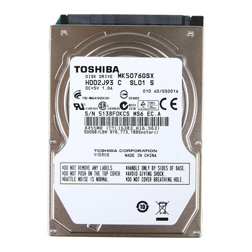 HD 500GB TOSHIBA SATA FOR NOTEBOOK 5400RPM ,Laptop HDD