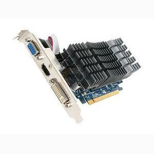VGA 1G ASUS GEFORCE DDR3 DVI PCIEX EN210 SILENT/DI/1G HDMI مستعمل ,Desktop Graphic Card