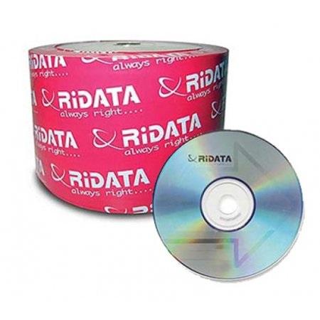 CD BLANK RIDATA 700MB 52X بدون علبة ,Blank CD & DVD