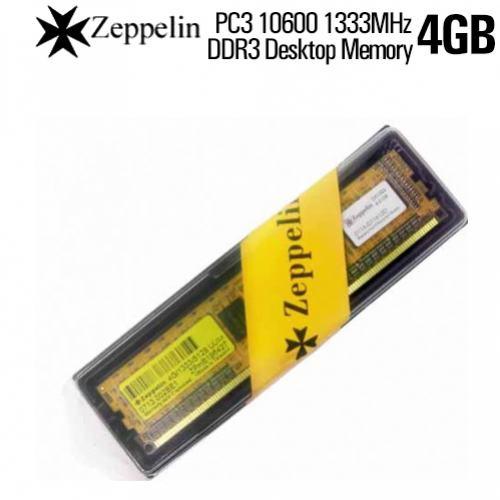 DDR3 4GB PC1333 ZEPPELIN BOX FOR PC توافقية كاملة ,Desktop RAM