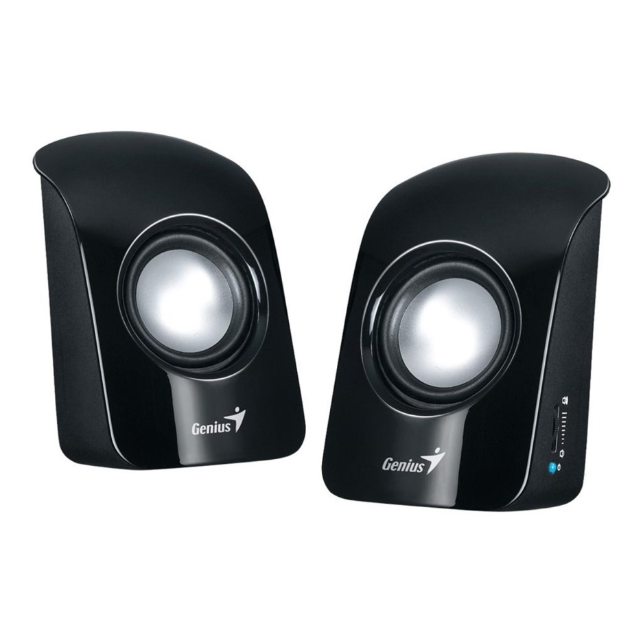 SPEAKER GENIUS SP-U115 BLACK USB ,Speakers