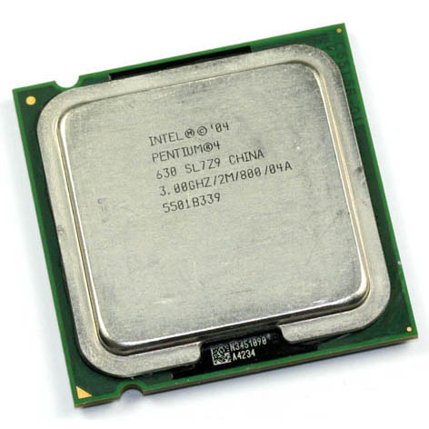 CPU INTEL P4 3GHZ  PC800 SOK775 2M CACHE 630 TRAY PULLED  مستعمل ,Other Used Items