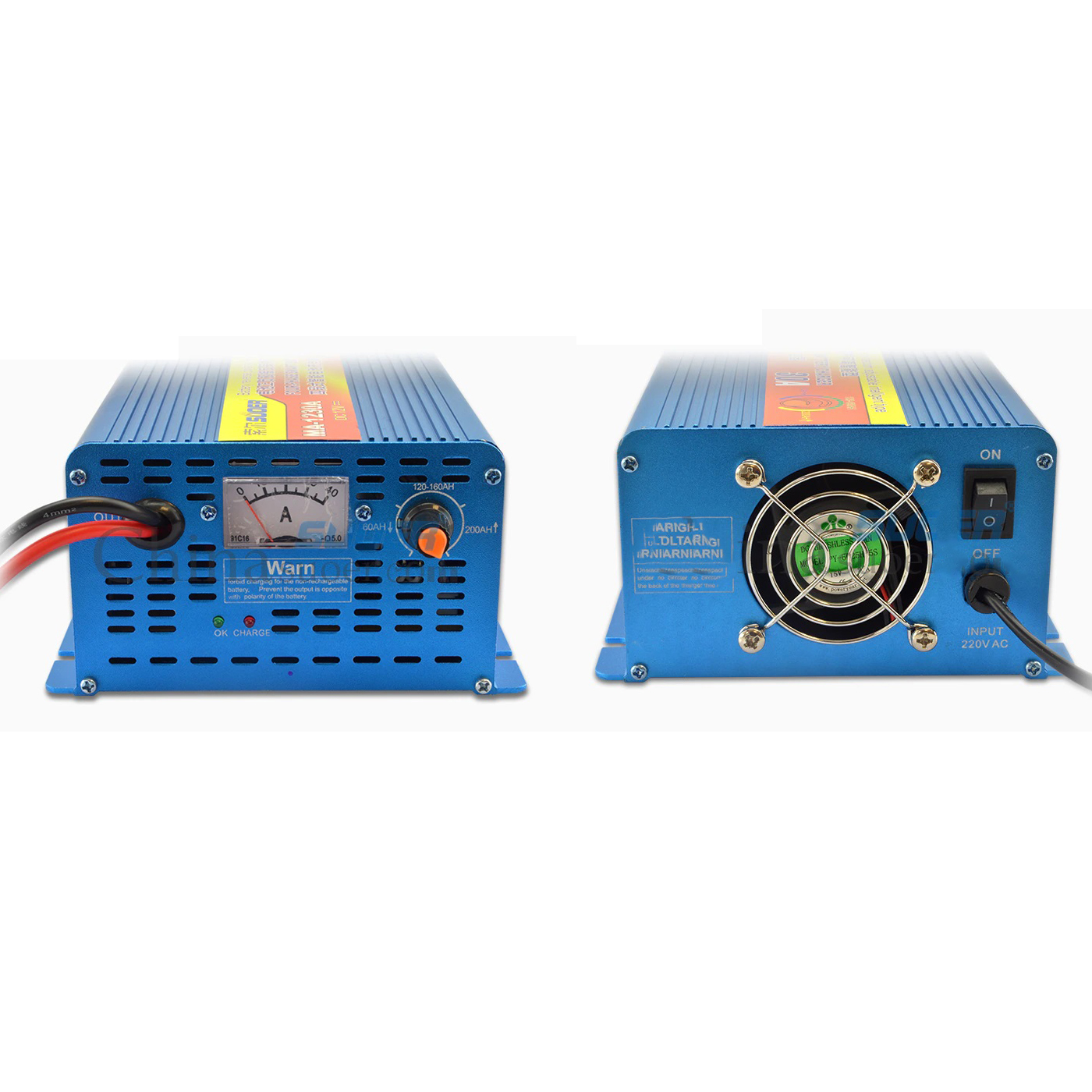 CHARGER SUOER FOR UPS BATTERY 12V & 30A  MA-1230A شاحن ,Battery Charger