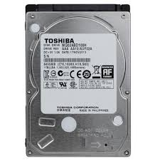 HD 1 TERRA TOSHIBA SATA FOR NOTEBOOK 5400RPM ,Laptop HDD