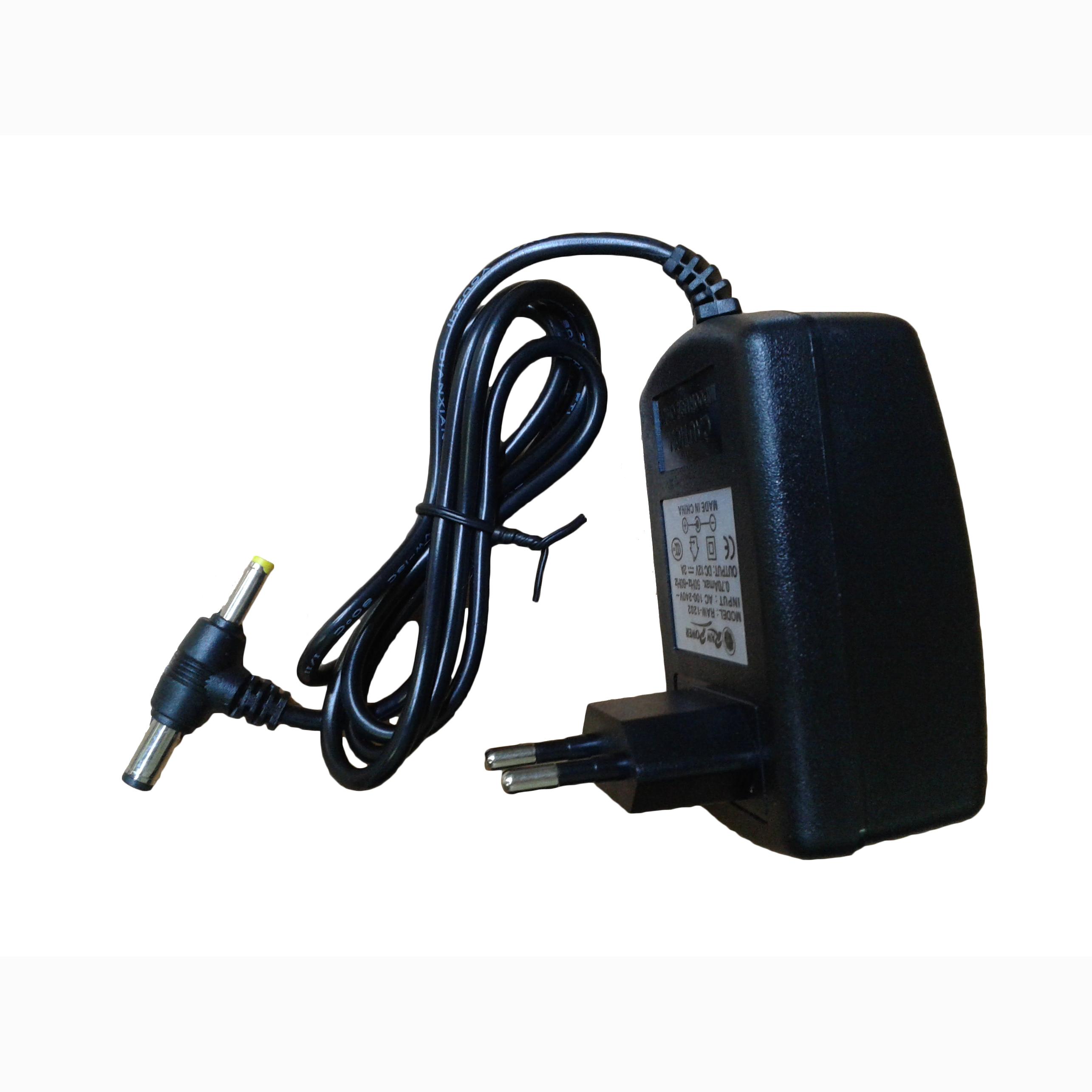محول  12V/2A جك رفيع & عريض ,Router Accessories
