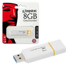 RAM USB 8GB FLASH KINGSTON DataTraveler 101 GEN2 RED ,Flash Memory