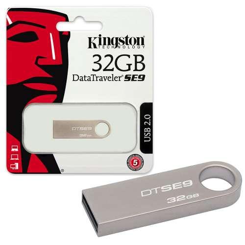 RAM USB 32GB FLASH KINGSTON DataTraveler SE9 METAL ,Flash Memory