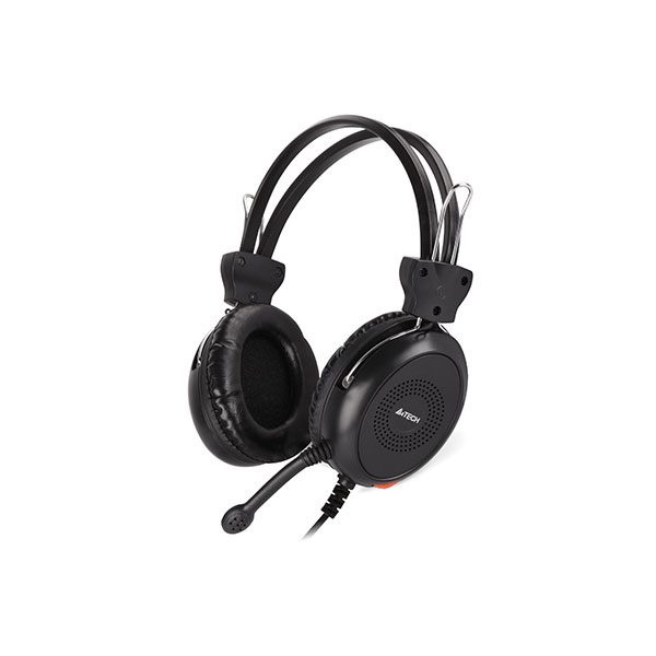 HEADSET GAMING A4TECH HS-30 +VOLUM CONTROL+2MIC FOR PC ,Headphones & Mics