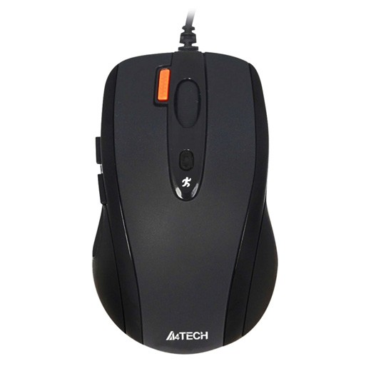 MOUSE A4TECH OPTICAL N-70FX BLACK USB ,Mouse