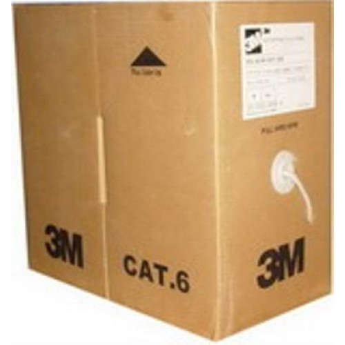 CABLE NETWORK CAT6 UTP 305M ROLL 3M VOL-6C4V-UGY-305 ,Network Cables