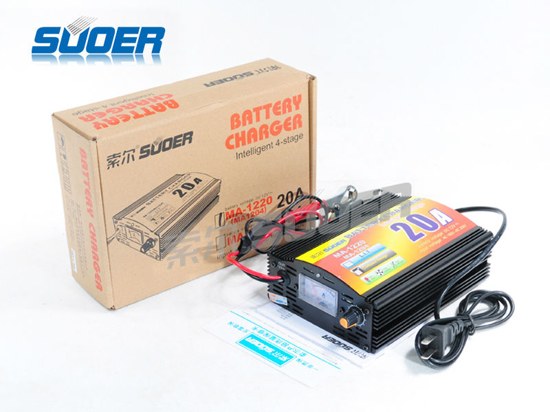CHARGER SUOER FOR UPS BATTERY 12V & 20A  MA-1220 شاحن ,Battery Charger