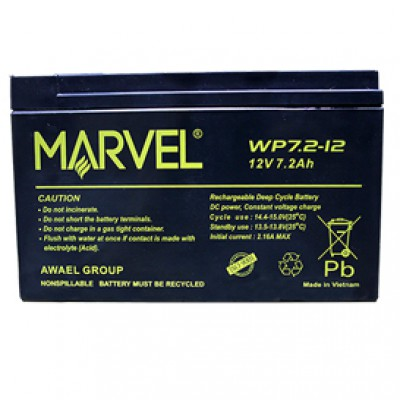 BATTERY FOR UPS 12V/7A MARVEL ,Batteries