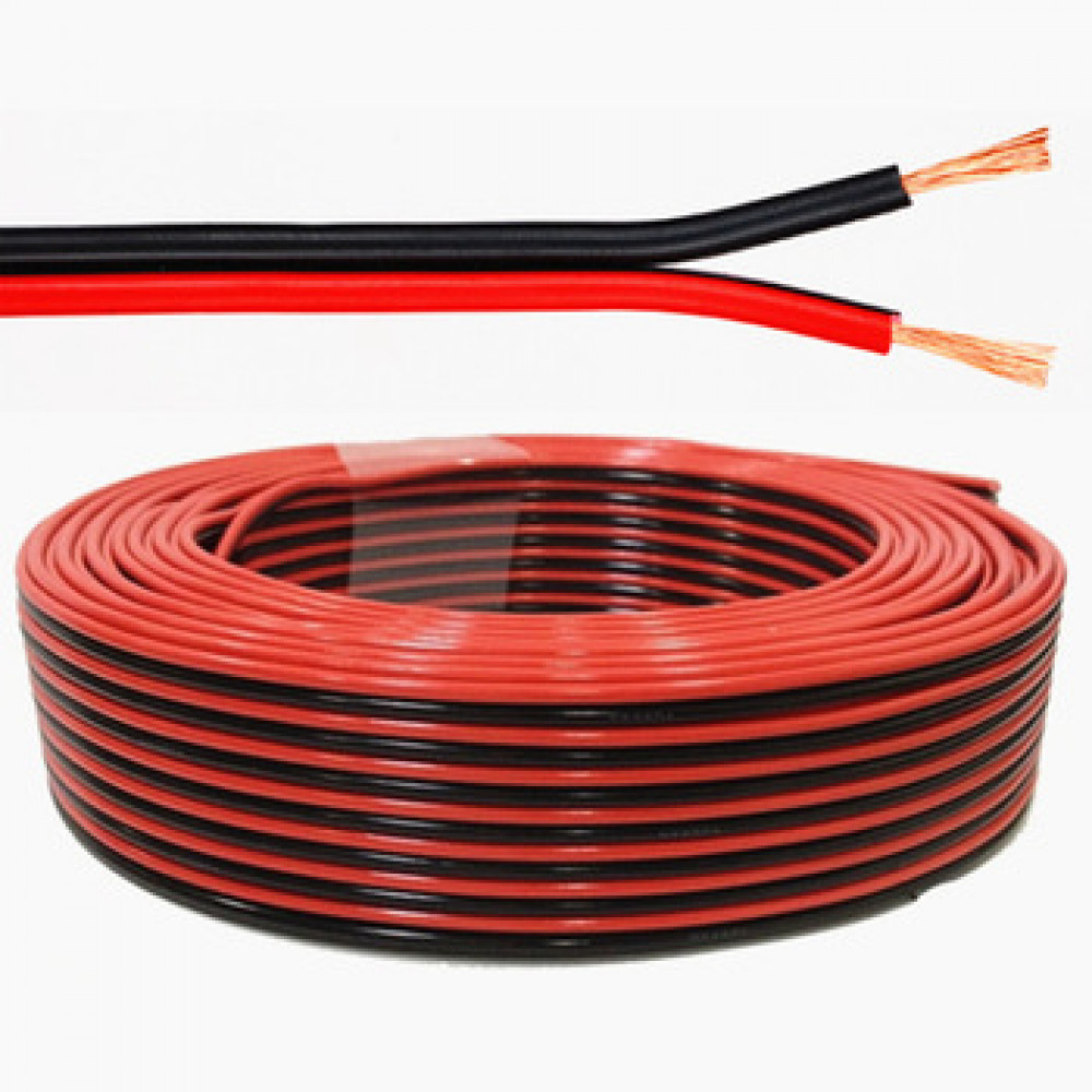 ELECTRIC CABLE MEGA RED&BLACK 0.5MM ,Electrical Accessories