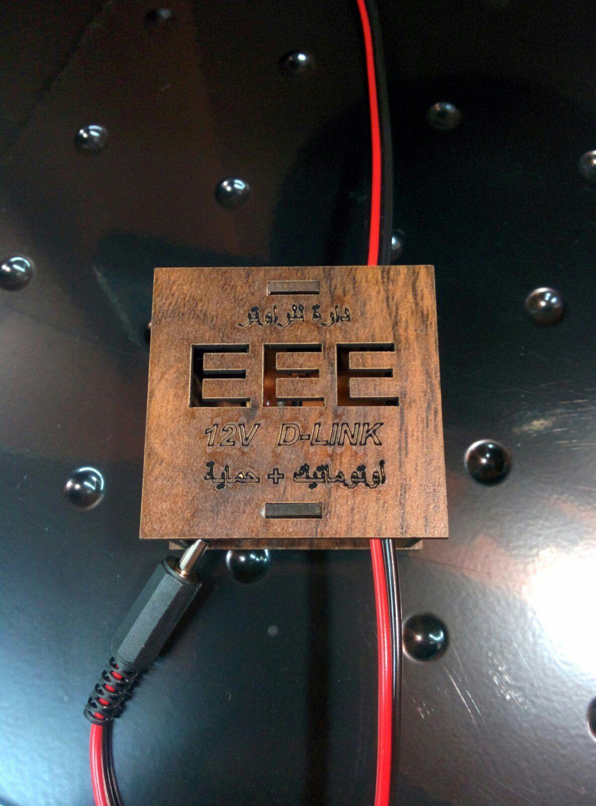 دارة لتشغيل راوتر D-LINK 12V فولت على البطارية مع أتوماتيك وحماية للراوتر ,Other Acc