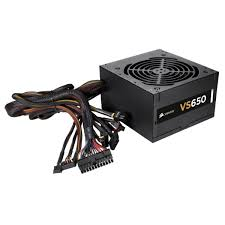 POWER SUPPLY CORSAIR ATX 650W 24PIN LGA VS650 BOX ,Case & Power Supply