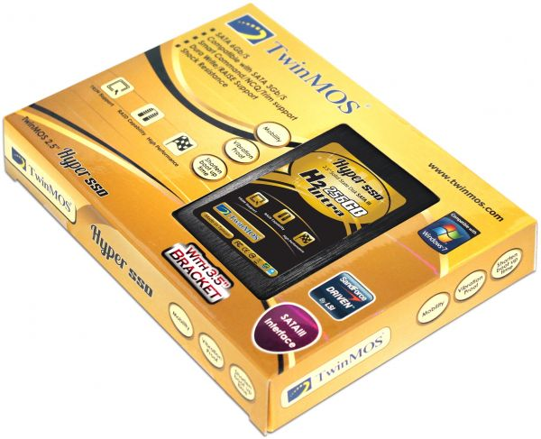 HDD SSD TWINMOS 256GB 2.5 INCH SATA3 & 3.5 KIT HSSD H2 ULTRA 256 ,SSD HDD