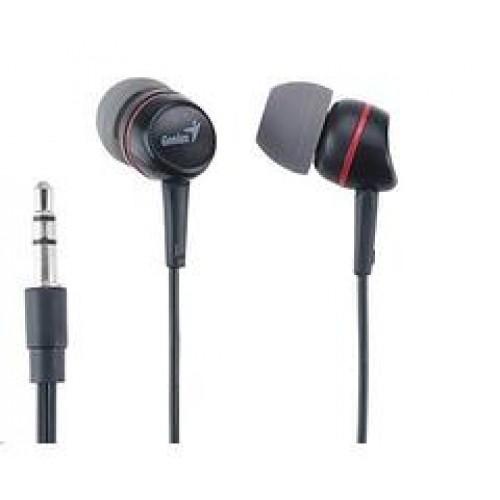 HEADPHONE GENIUS GHP-200A BLACK/WHITE ,Headphones & Mics