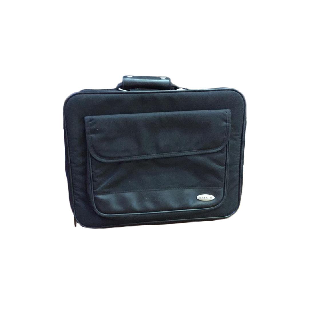 NOTEBOOK BAG  BELKIN BLACK 15.6 قماش ,Laptop Bag