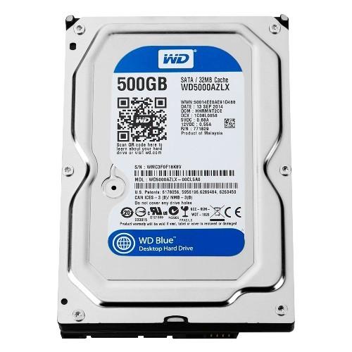 HD 500GB WD  SATA3 32MB PULLED OUT مسحوب من أجهزة ,Desktop HDD