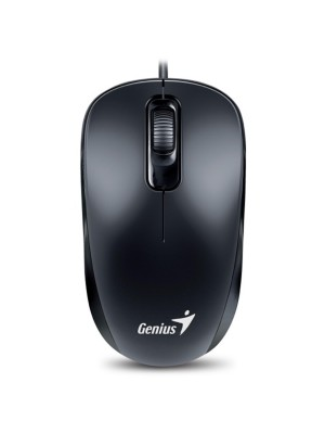 MOUSE GENIUS COMFORT DX-110 G5 1000 DPI USB BLACK/BLUE ,Mouse