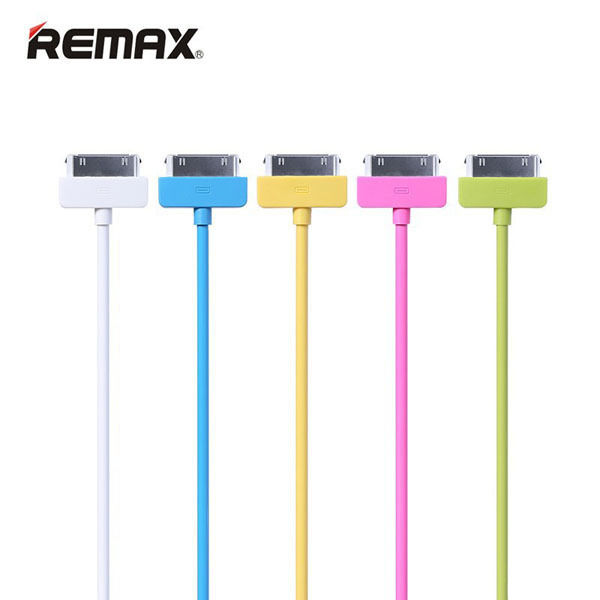 CABLE FOR IPHONE 4/4S/IPAD - DATA & CHARGE REMAX COLOR RC-006I4 ,Other Smartphone Acc