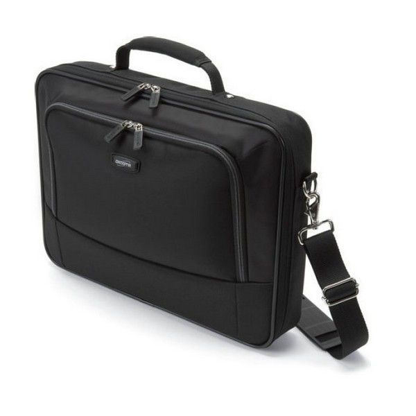 NOTEBOOK BAG DICOTA CLASSIC COMPACT ORIGINAL  15.0 UP TO 16.4 - BLACK CLOTH قماش ,Laptop Bag