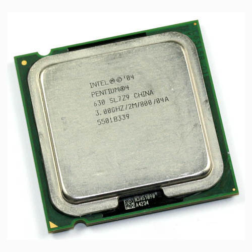 CPU INTEL P4 3GHZ  PC800 775 1M CACHE TRAYمستعمل ,Other Used Items