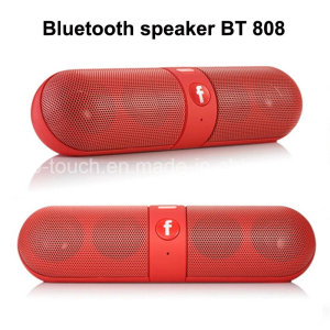 SPEAKER BLUETOOTH BT 808L  CARD & USB FLASH & FM RADIO & MP3 & MOBILE & NOTEBOOK & AUX LIGHT COLOR مضيئ ,Speakers