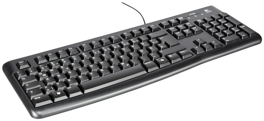 KEYBOARD LOGITECH  OPTICAL WIRED DESKTOP USB K120 ,Keyboard