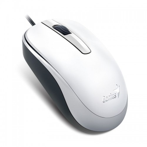 MOUSE GENIUS  COMFORT DX-120 1000 DPI WHITE USB ,Mouse