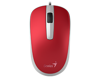 MOUSE GENIUS  COMFORT DX-120 1000 DPI RED USB ,Mouse