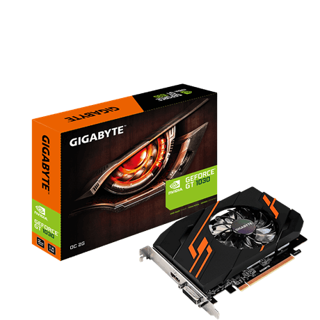 VGA 2G GIGABYTE GEFORCE GAMING GT1030 GDDR5 64BIT HDMI&DVI PCIEX 1030 GT ,Desktop Graphic Card