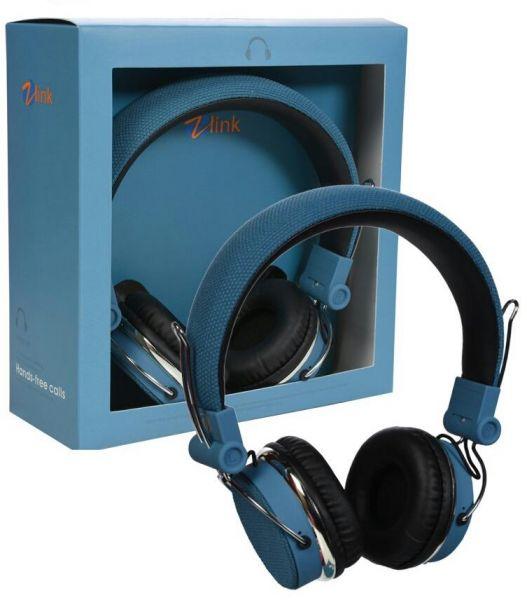 HEADPHONE BLUETOOTH ZLINK  H7001 COLOR ,Headphones & Mics