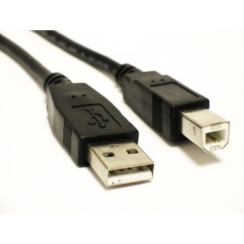 CABLE USB PRINTER 1.5M ORGINALشيلد ,Cable