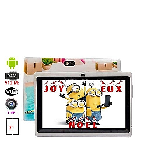 TABLET PC G-TAB 7.0 IPS QUADCORE 1.2GHz 512MB 8GB BT+ COVER + HANDS FREE + OTG CABLE - STUDY TABLET Q66 - COLORFUL ,Display 7 Inch