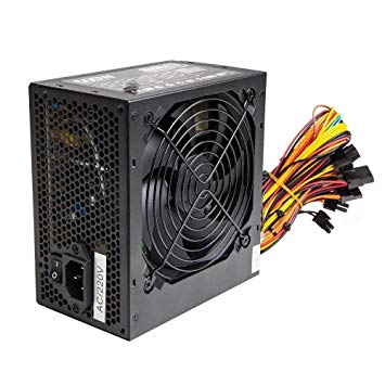 POWER SUPPLY LUMENS HOUSE EP001 ATX 500W 24PIN LGA BIG FAN BOX REAL 250W ,Case & Power Supply