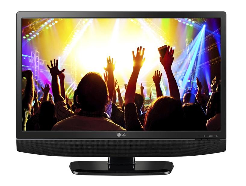 MONITOR LED TV 24 LG HD READY 24MT48AM-PT+HDMI ,LED