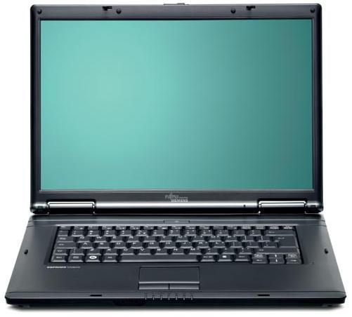 NOTEBOOK FUJITSU SIEMENS V5505  CEL 550 2GH 1M- 1G DDR2 HDD 120 VGA INTELL 965 BLACK مستعمل بطاريه ساعه ,Used Laptops