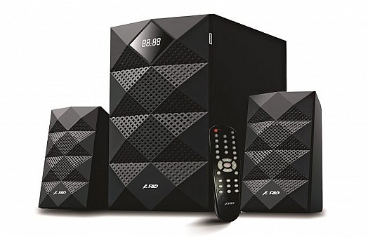 SUBWOOFER 2.1 F&D A180X USB+FM+BLUTOOTH + REMOTE +LED DISPLAY FINDA ,Home Theater & Subwoofer