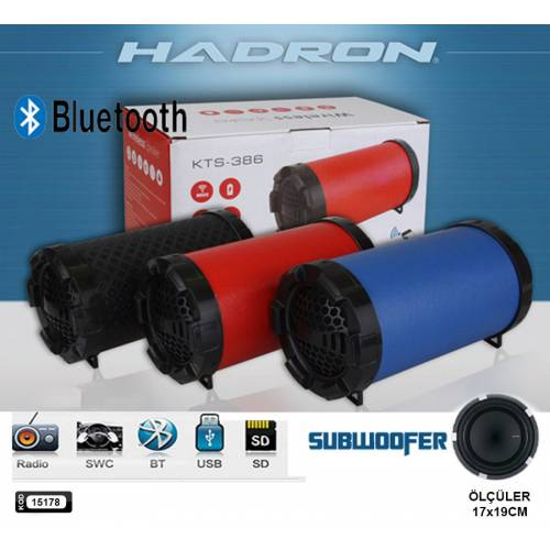 SPEAKER BLUETOOTH & USB RECHARGEABLE & TF CARD FOR NOTEBOOK & IPOD & MP3 & MOBILE COLOR KTS-386 ,Speakers