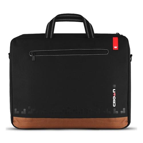 NOTEBOOK BAG 15.6 CROWN SLIM CASE CMB-440 BLACK ,Laptop Bag