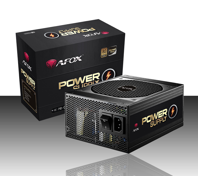 POWER SUPPLY AFOX ATX 1600W 24PIN LGA BIG FAN BOX