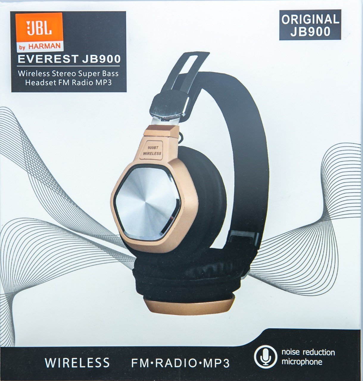 HEADPHONE BLUETOOTH JBL MICRO SD + FM RADIO + AUX + MIC - JB900 - COLOR ,Smartphones & Tab Headsets